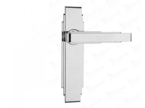 Дверная ручка Frank Allart на планке