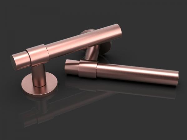 Дверная ручка на розетке Oliver Knights