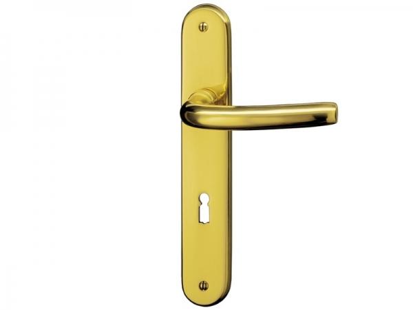 Дверная ручка на планке P.Bisschop