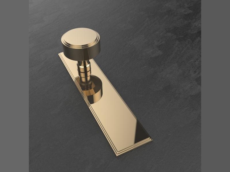 Дверная ручка-кноб Oliver Knights