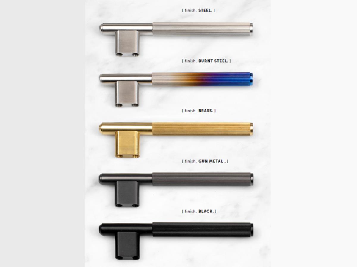 Мебельная L-образная ручка Buster & Punch