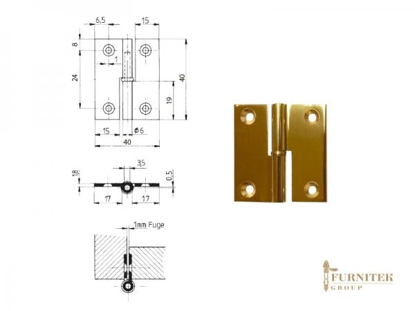 FS Эксклюзивная мебельная петля карточная