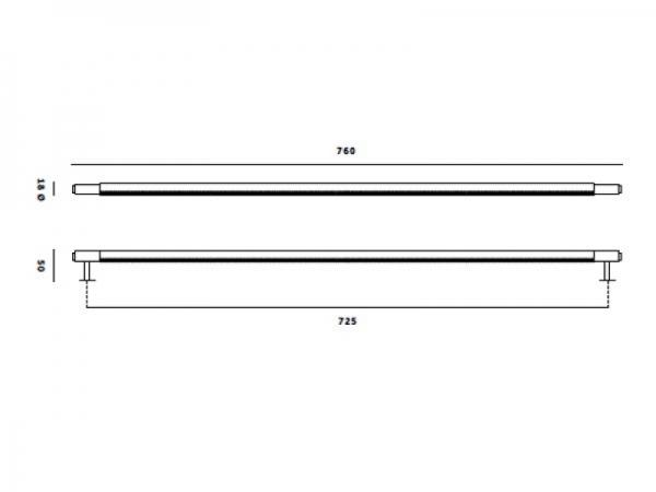 Ручка скоба мебельная Buster & Punch